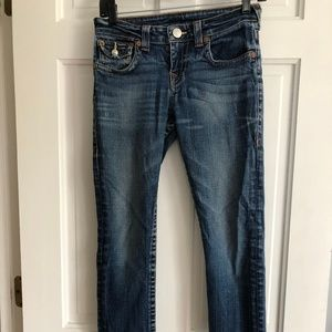 Kids True Religion Blue Jeans size 12
